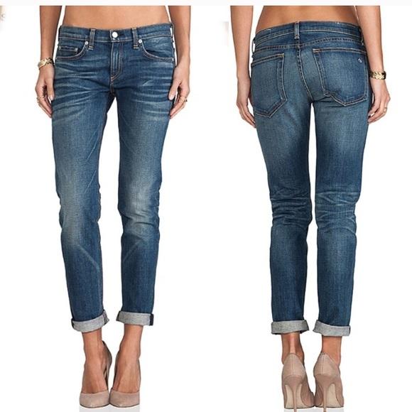 hot sale online new style & luxury discount for sale Rag & Bone the Dre boyfriend jeans Bradford wash